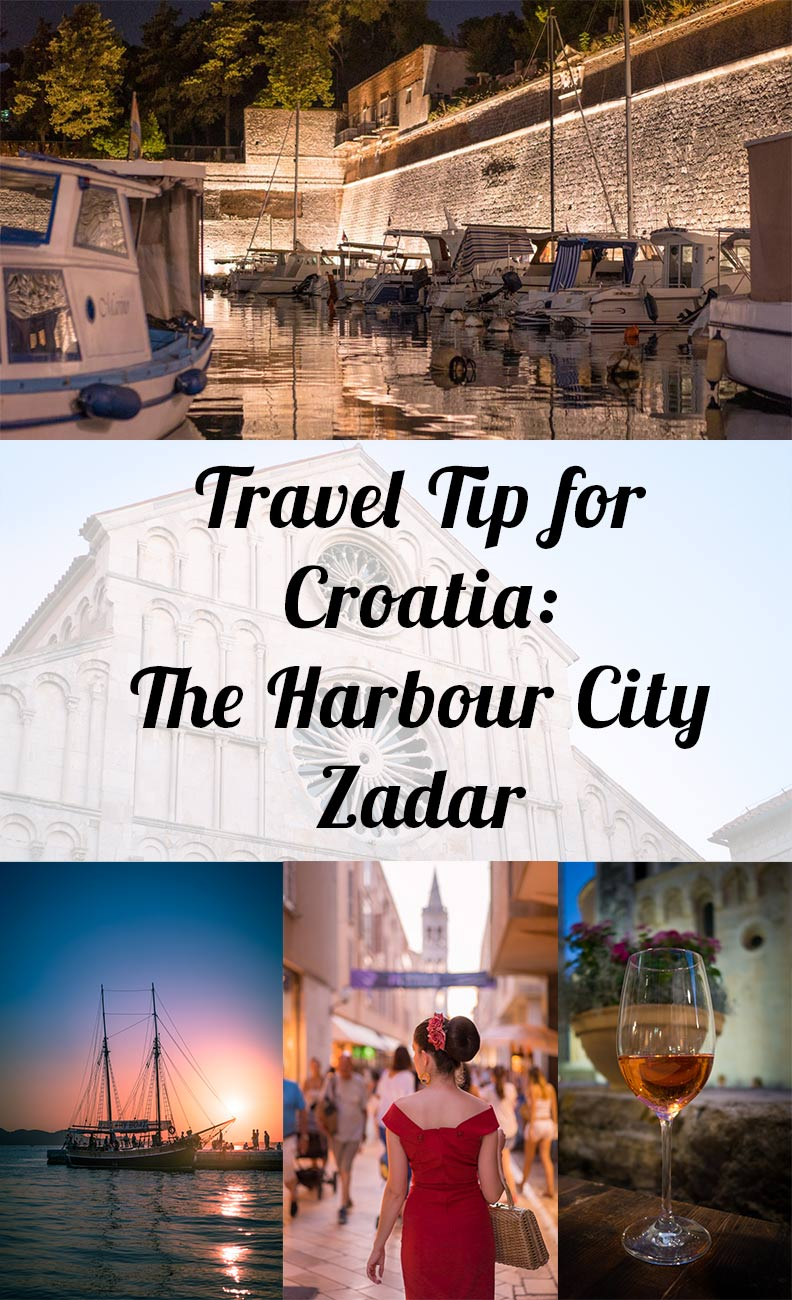Travel tip for Croatia from RetroCat: The harbour city Zadar