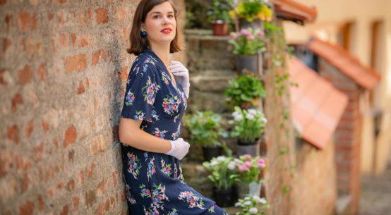 Sommerlich leicht: Das Retro-Kleid