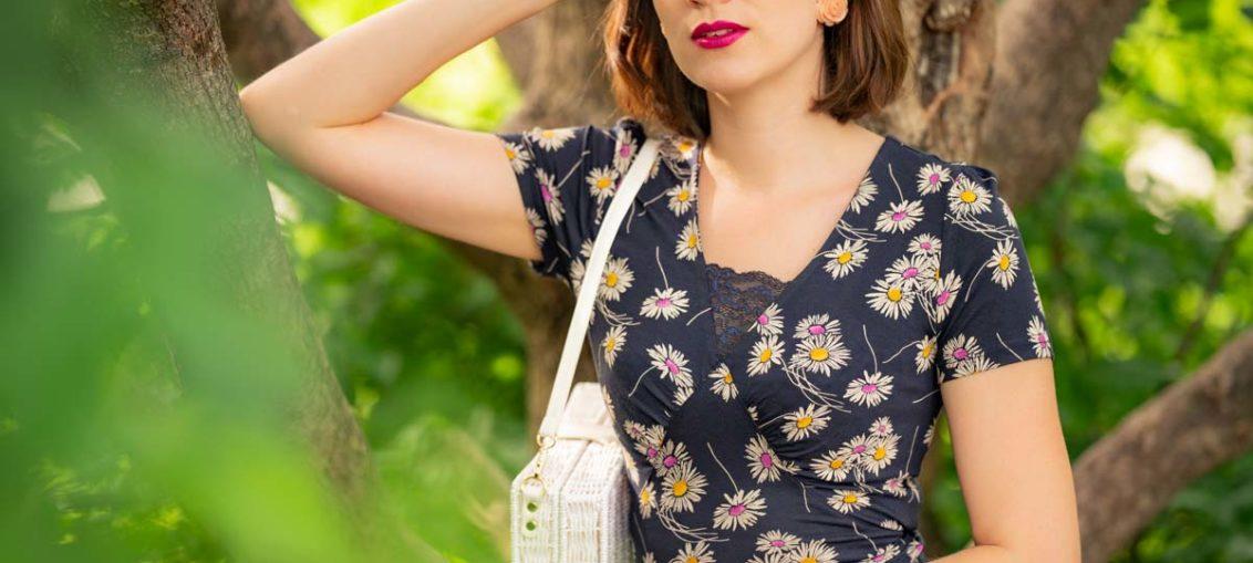 Blumenmädchen für einen Tag mit dem Daisy Dress von Vive Maria