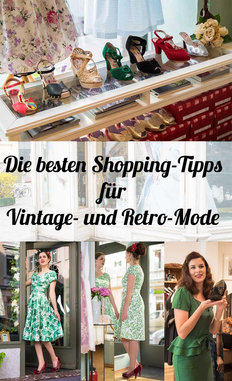 Die besten Shopping-Tipps für Vintage- und Retro-Mode von Fashion-Bloggerin RetroCat