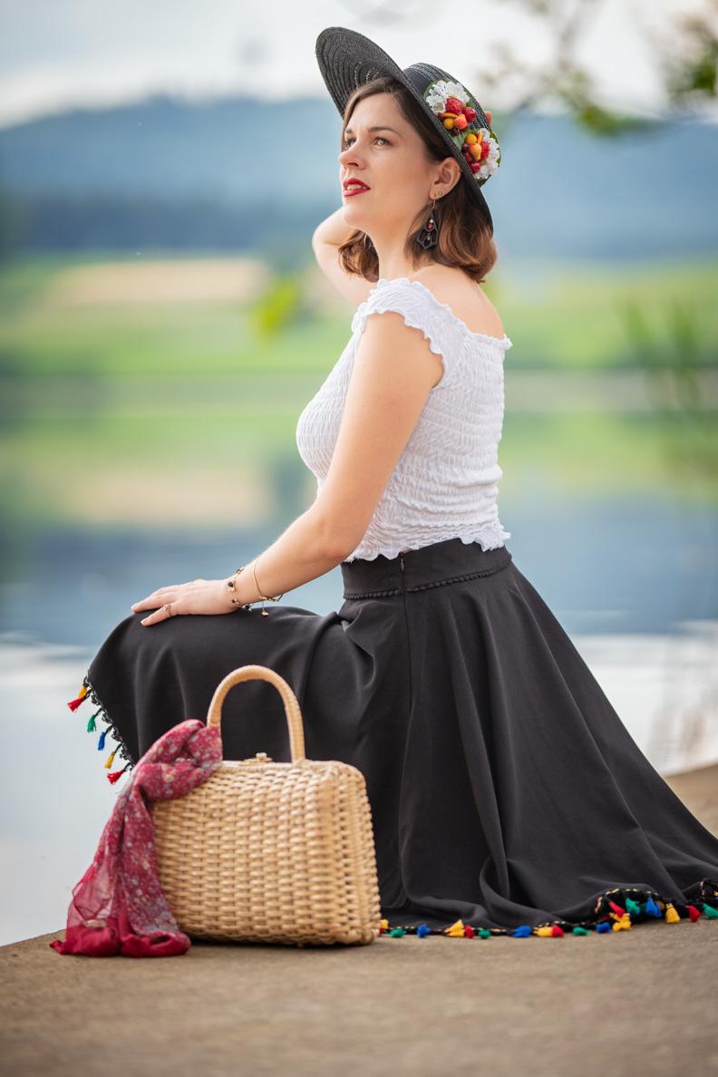 adad187ddf Ein Spaziergang am See mit dem Tellerrock Fernanda von Küstenluder