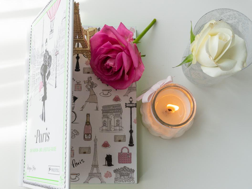 """Ein Blick ins Buch """"Paris: Der Fashion- und Lifestyle-Guide"""" von Megan Hess"""