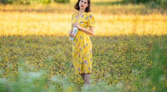 Bienen anlocken leicht gemacht: Das knallgelbe Sommerkleid