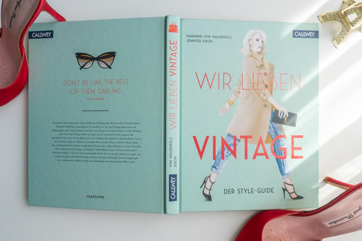 """Das Buch """"Wir lieben Vintage"""" vom Callewey Verlag"""