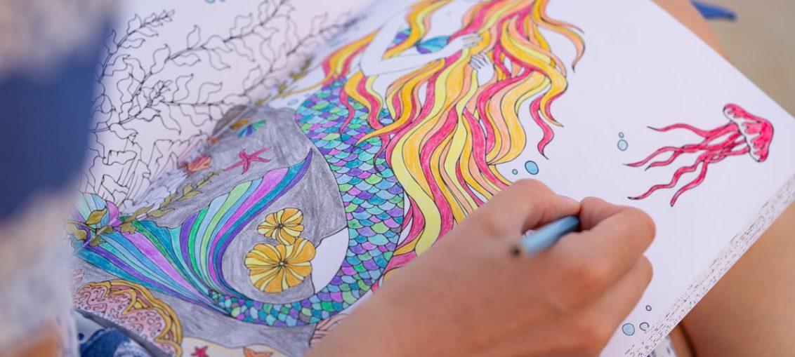 Das Meerjungfrauen Malbuch: Ein Ausmalbuch für große und kleine Nixen