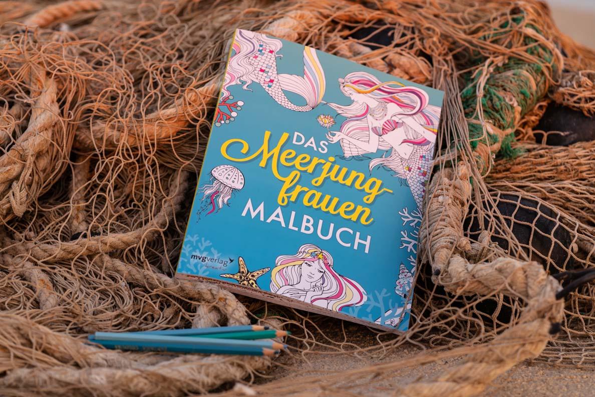 Das Meerjungfrauen Malbuch vom mvg Verlag