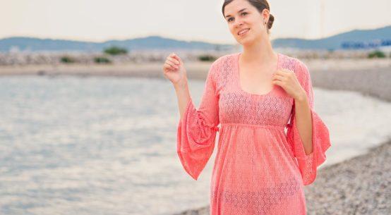 Stilvolles Outfit für den Strand: Das Dolly P.'s House Dress von Grünten Mode