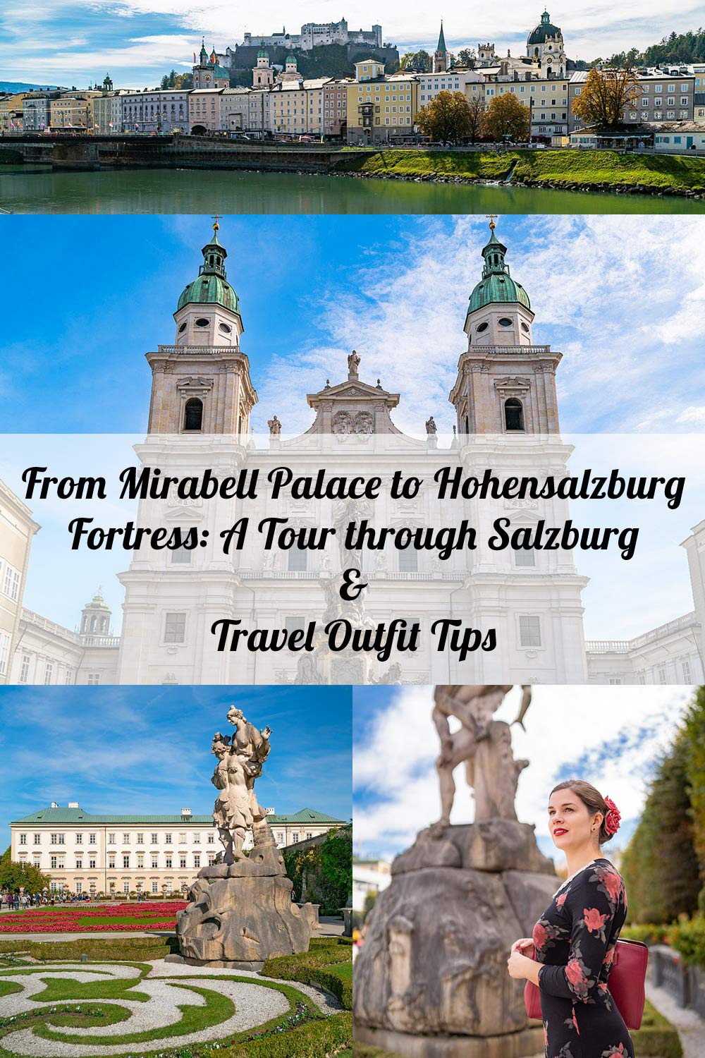 From Mirabell Palace to Hohensalzburg Fortress: A Tour through Salzburg in a Rose Dress