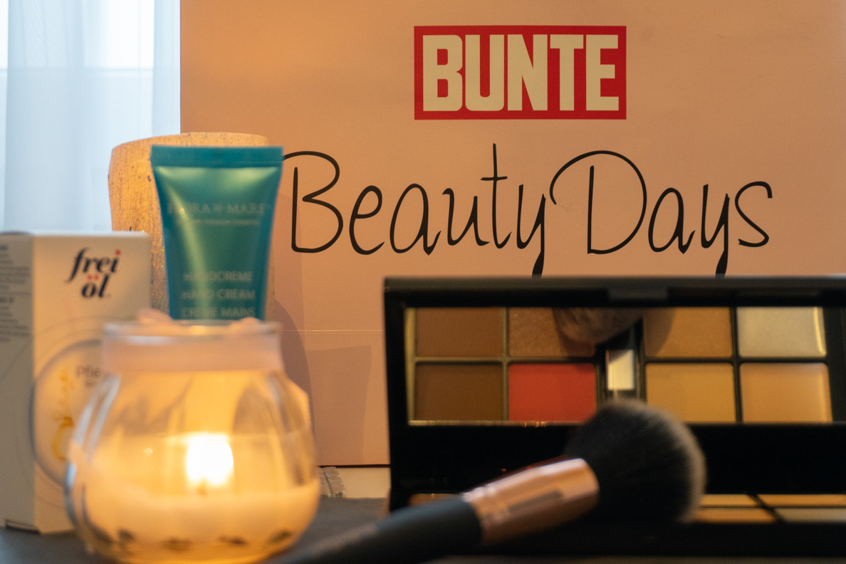 Die Goodie Bag der Bunte Beauty Days 2018