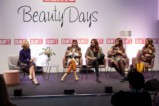 Influencer Talk auf den Bunte Beauty Days 2018