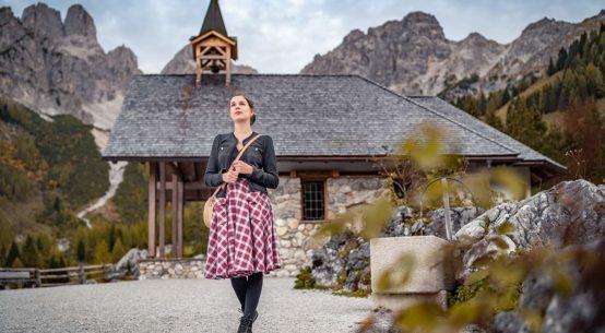 Zu Besuch auf der Oberhofalm & ein Wander-Outfit im Vintage-Stil