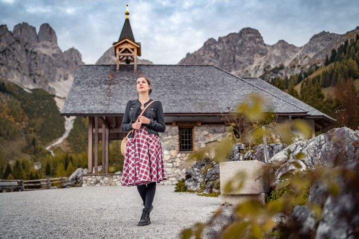 A visit at the Oberhofalm & a vintage inspired Hiking Outfit