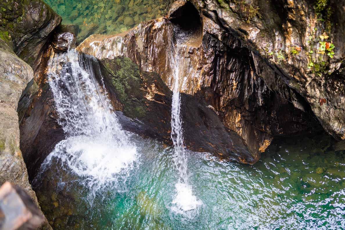 Wasserfälle in der Sigmund Thun Klamm in Kaprun/Österreich
