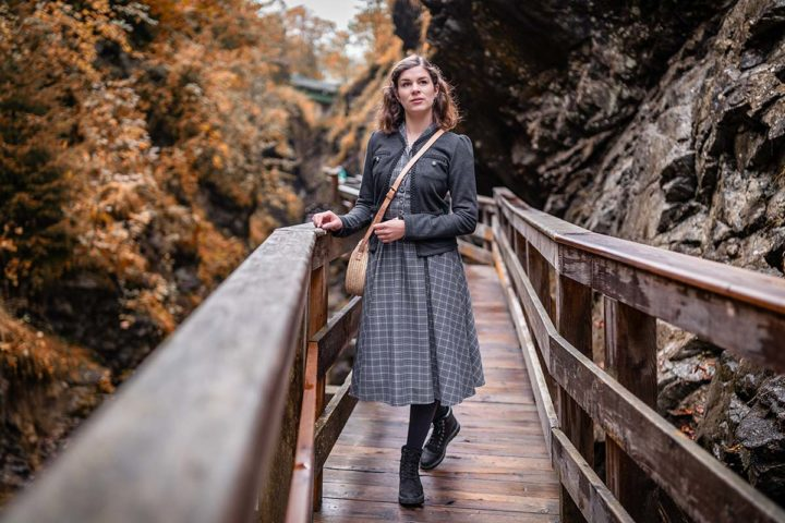 A Visit at the Sigmund Thun Gorge & a matching vintage inspired Outfit