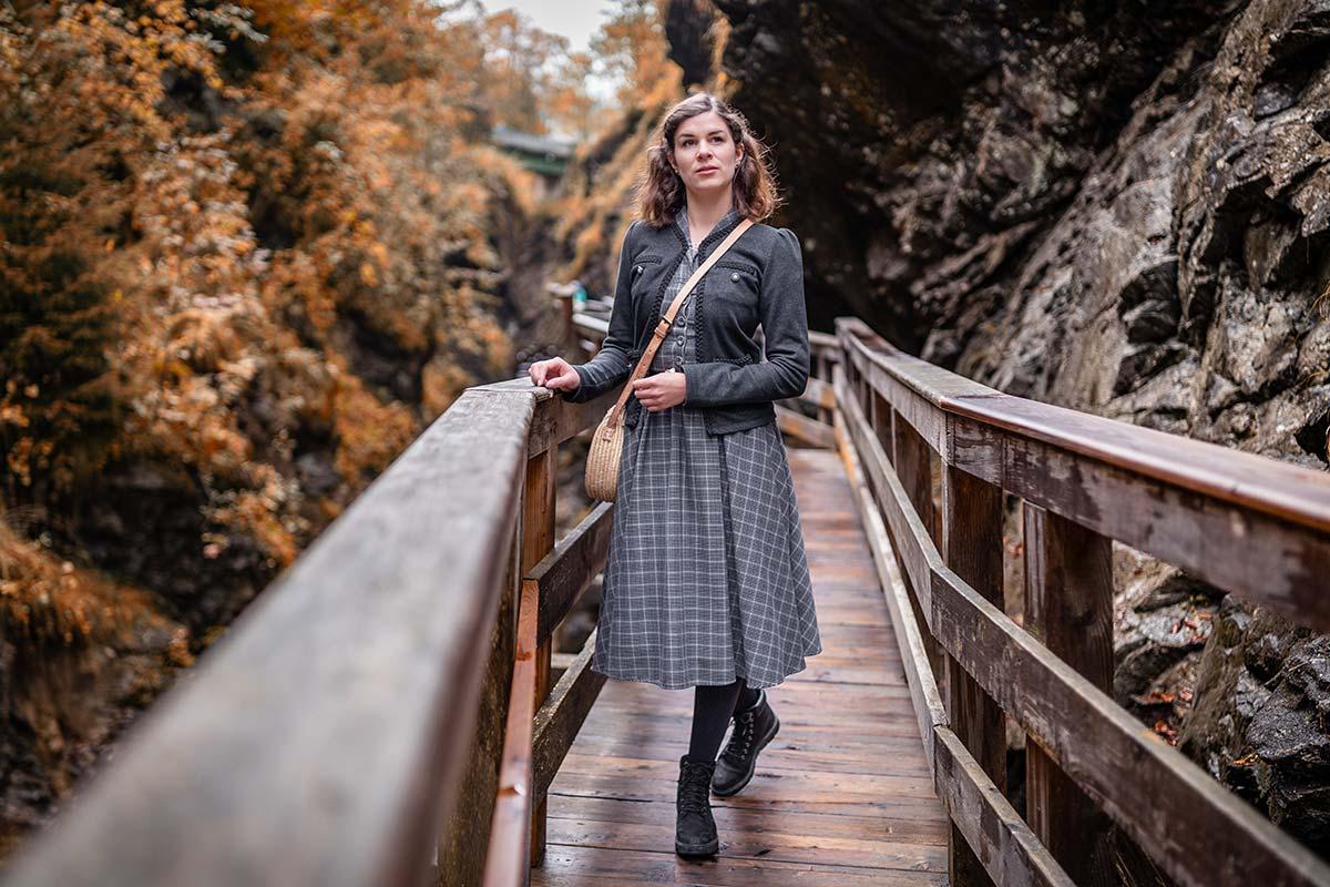 Ein Ausflug zur Sigmund Thun Klamm in Kaprun & ein passendes Retro-Freizeit-Outfit