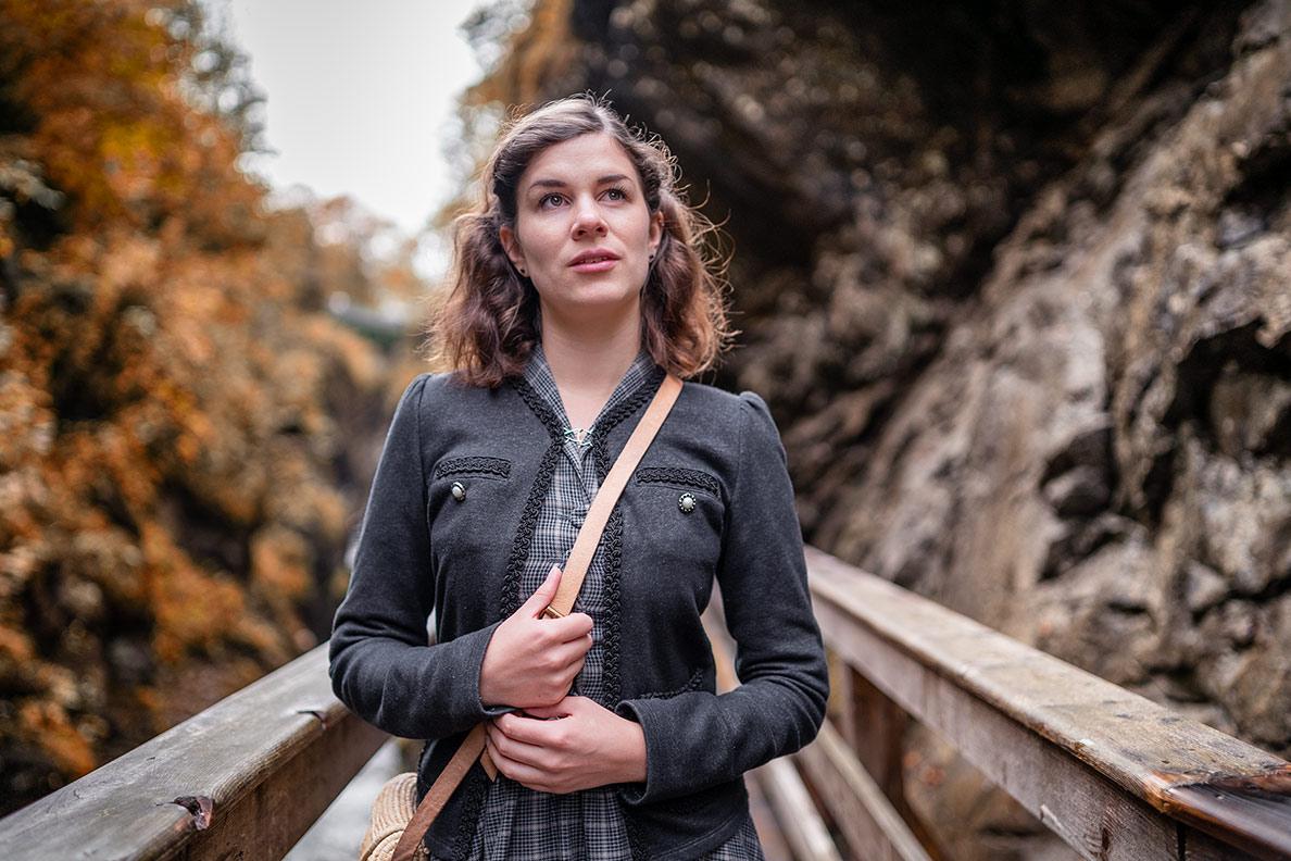 Reise-Bloggerin RetroCat in der Sigmund Thun Klamm in Österreich