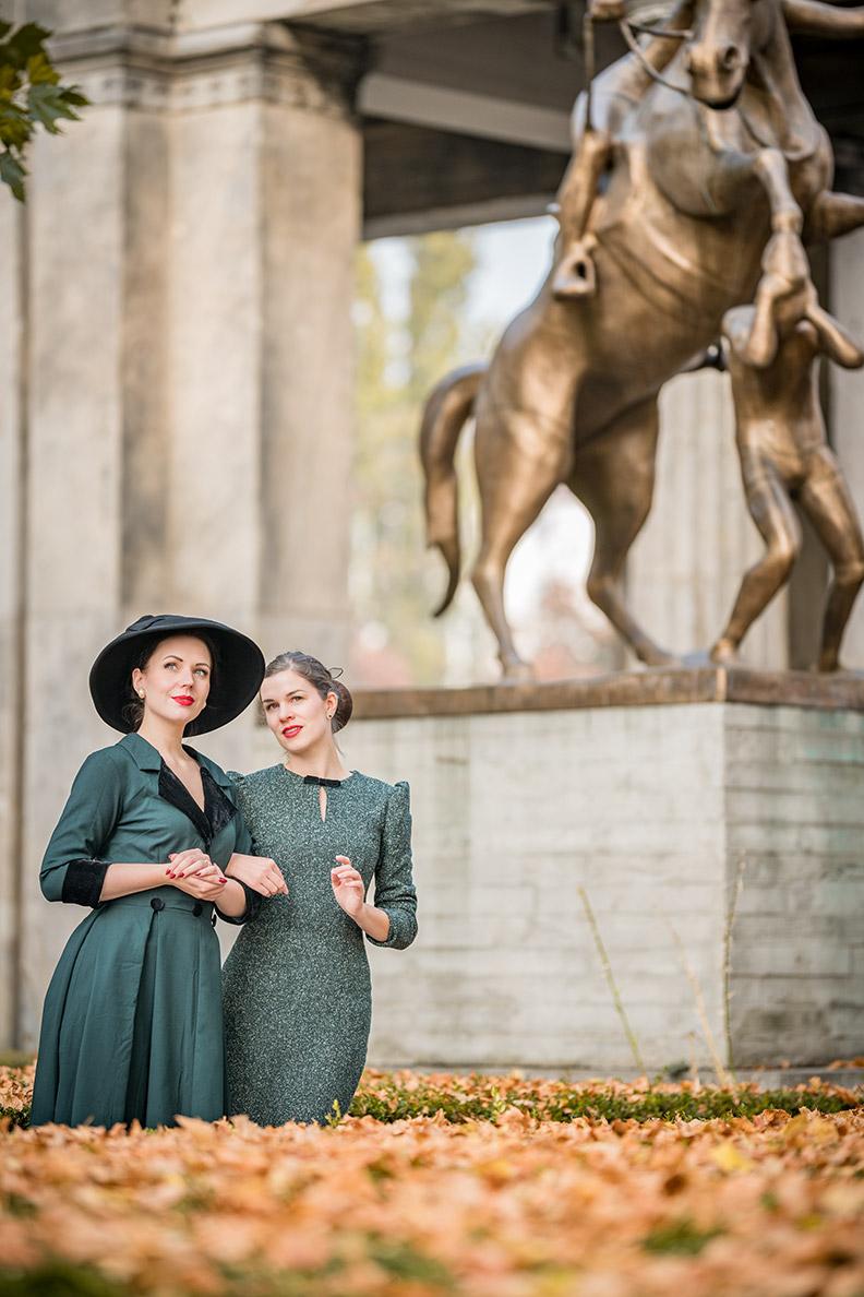 RetroCat und Madame Rhos unterwegs in Berlin
