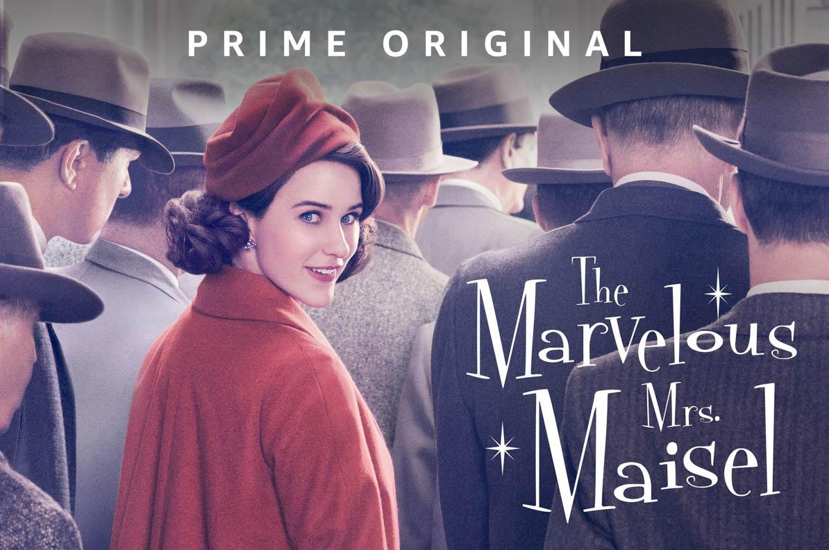 Die besten Vintage-Serien auf Amazon Prime und Netflix: The Marvelous Mrs. Maisel