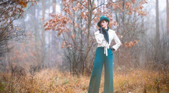 Die Marlene-Hose & ein Retro-Outfit, oder: Wann Frauen anfingen, Hosen zu tragen