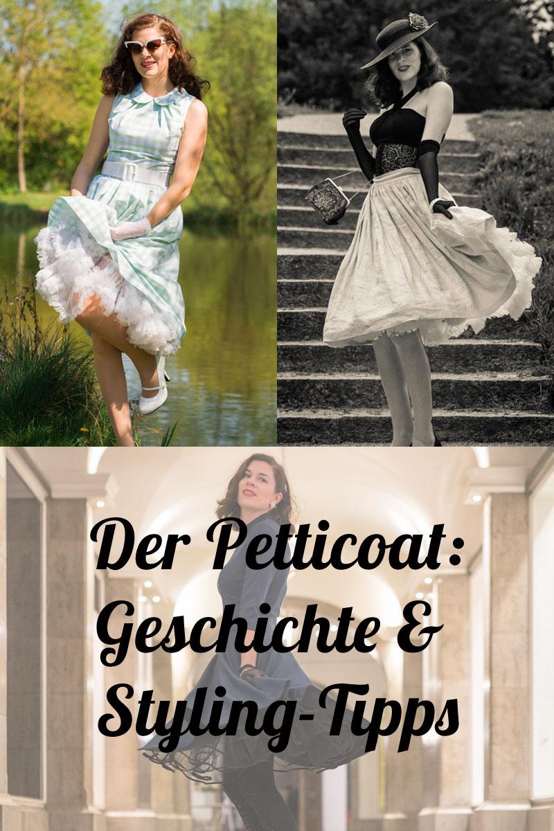 Petticoat: Geschichten & Anekdoten rund um den Unterrock der 50er - von Vintage-Bloggerin RetroCat