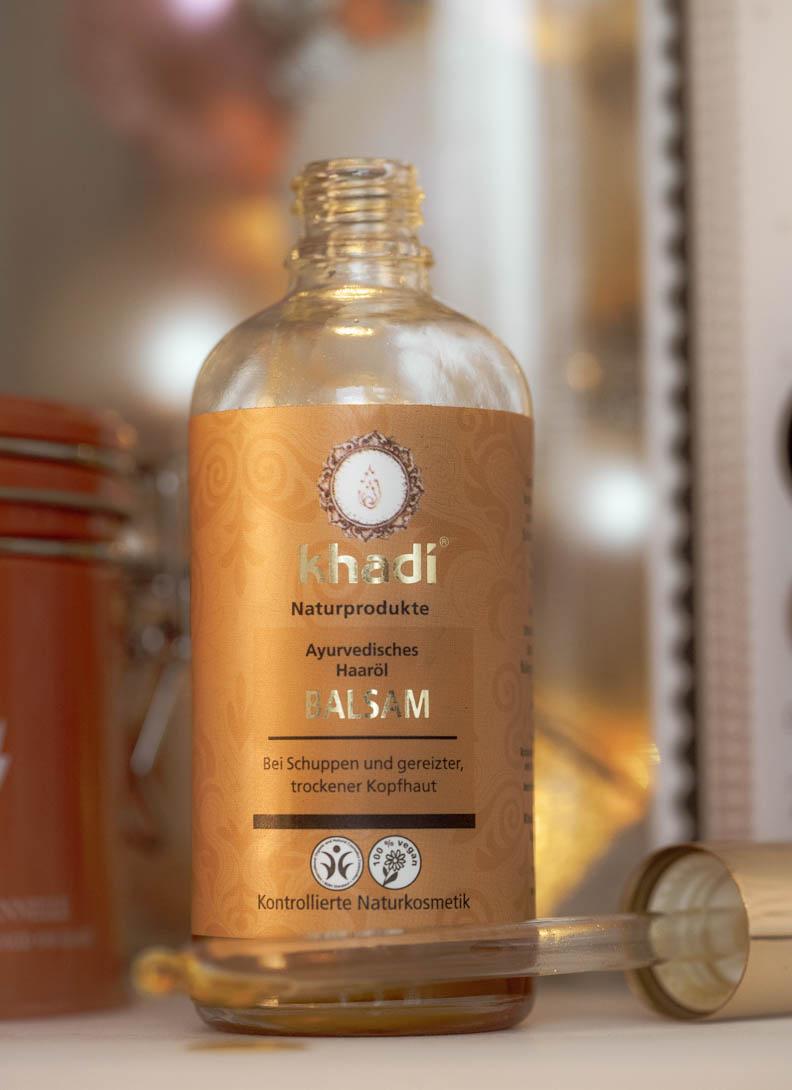 Haarpflegetipp für Herbst und Winter: Das Haaröl bzw. Haarbalsam von Khadi