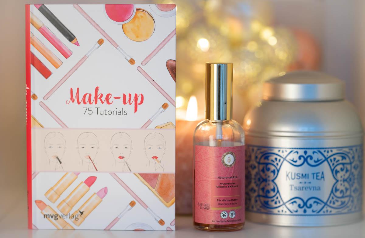 Vintage Tea Time & Buchtipp + Gewinnspiel: Make-up - 75 Tutorials