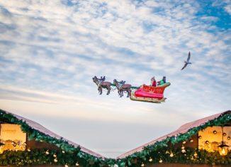 Zu Besuch beim Weihnachtsmann: Montreux und der Rochers de Naye