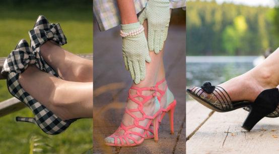 Trendreport mit Retro-Flair: Die Schuhtrends 2019 für Frühling und Sommer