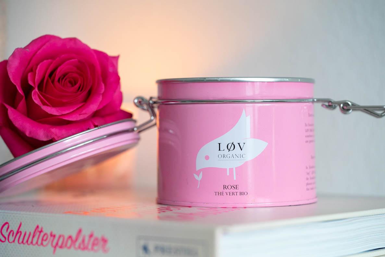 Vintage Tea Time: Grüner Tee mit Rose von Lov Organic