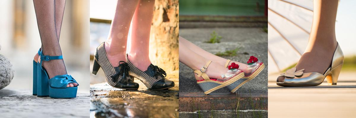 30er-Jahre-Mode: Die unterschiedlichen Schuhtypen und -formen