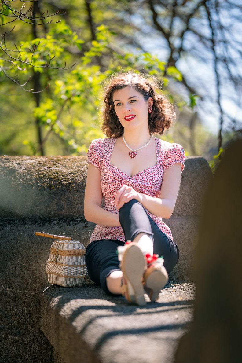 Caprihose kombinieren: Fashion-Bloggerin RetroCat gibt Tipps