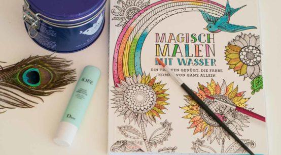 Vintage Tea Time: Entspannung pur mit einem magischen Malbuch + Gewinnspiel
