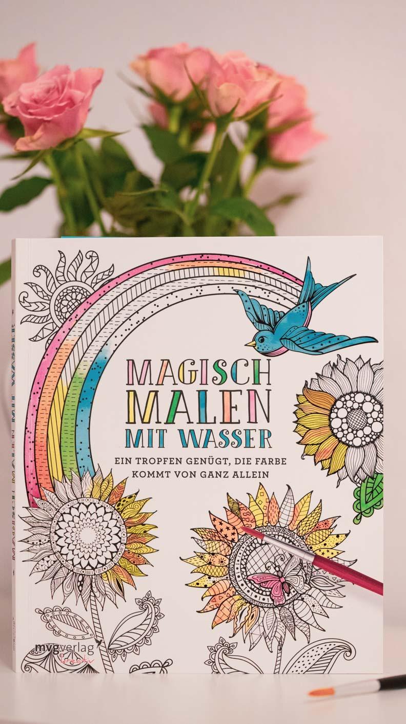 Magisch Malen: Ein zauberhaftes Malbuch vom mvgVerlag