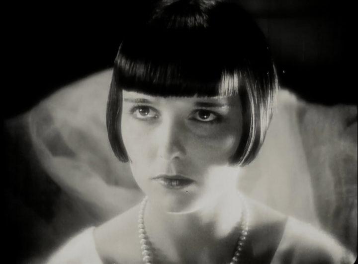 Portrait von Louise Brooks in die Büchse der Pandora