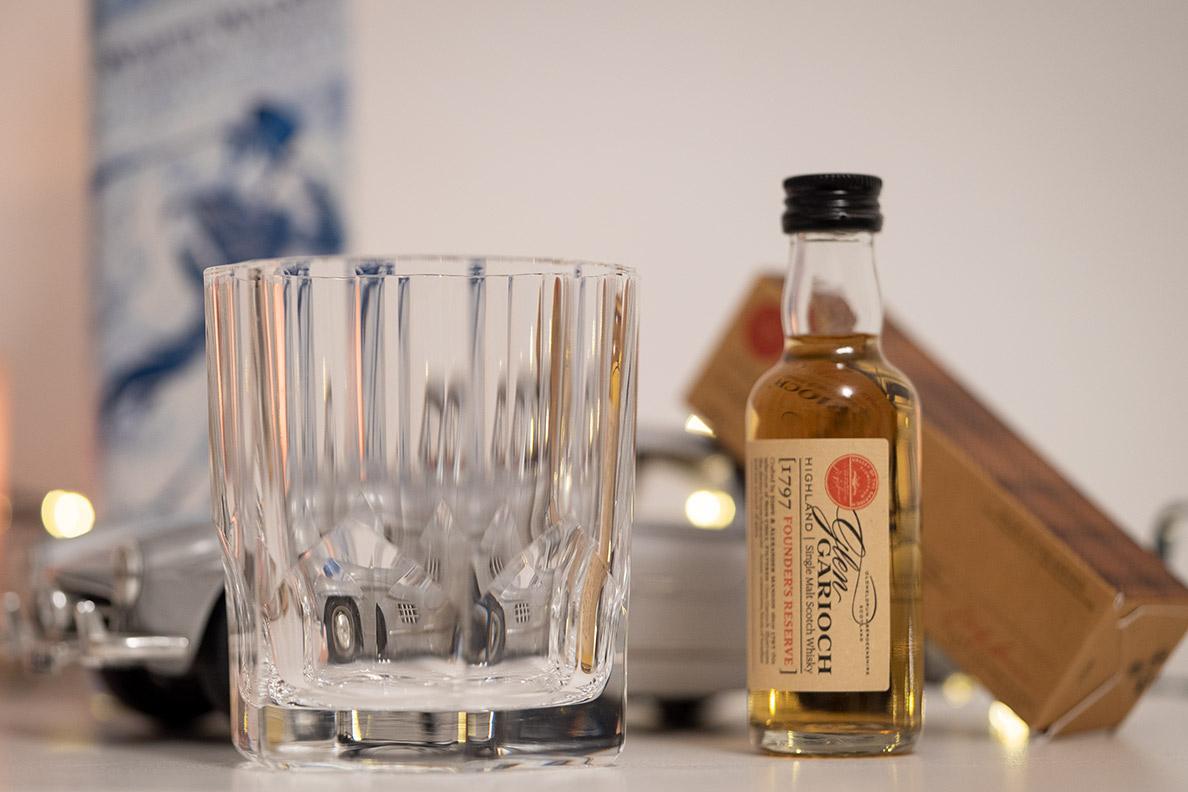 Geschenkideen für Männer: Schöne Kristallgläser für Whisky oder andere Drinks