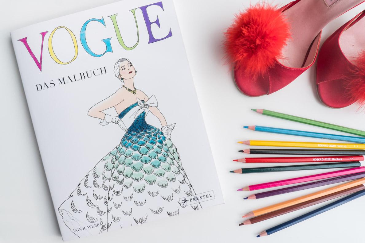 Geschenkideen für die beste Freundin zu Weihnachten: Das Vogue Malbuch