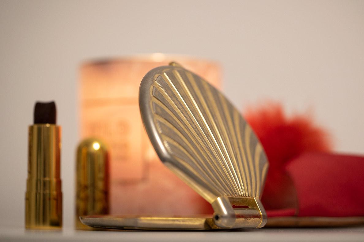 Geschenkideen für die beste Freundin: Ein hübscher Taschenspiegel