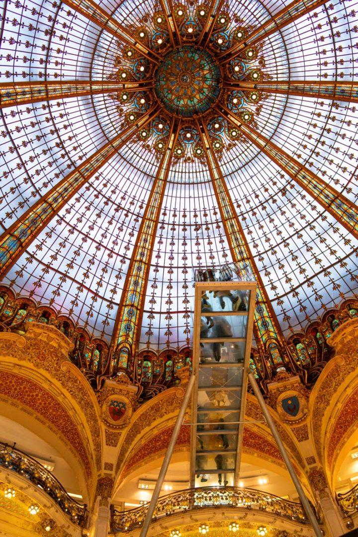 Die Galeries Lafayette von innen