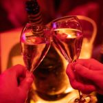 Der Champagner im Crazy Horse Paris