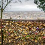 Schlösser der Liebe auf Montmartre