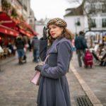 RetroCat unterwegs in den Gassen von Montmartre