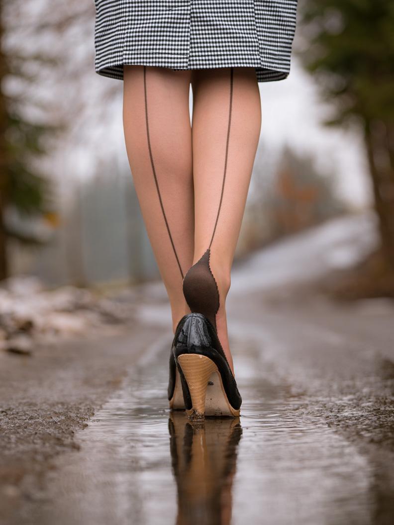 Schuhe für die Übergangszeit: RetroCat mit Lackpumps