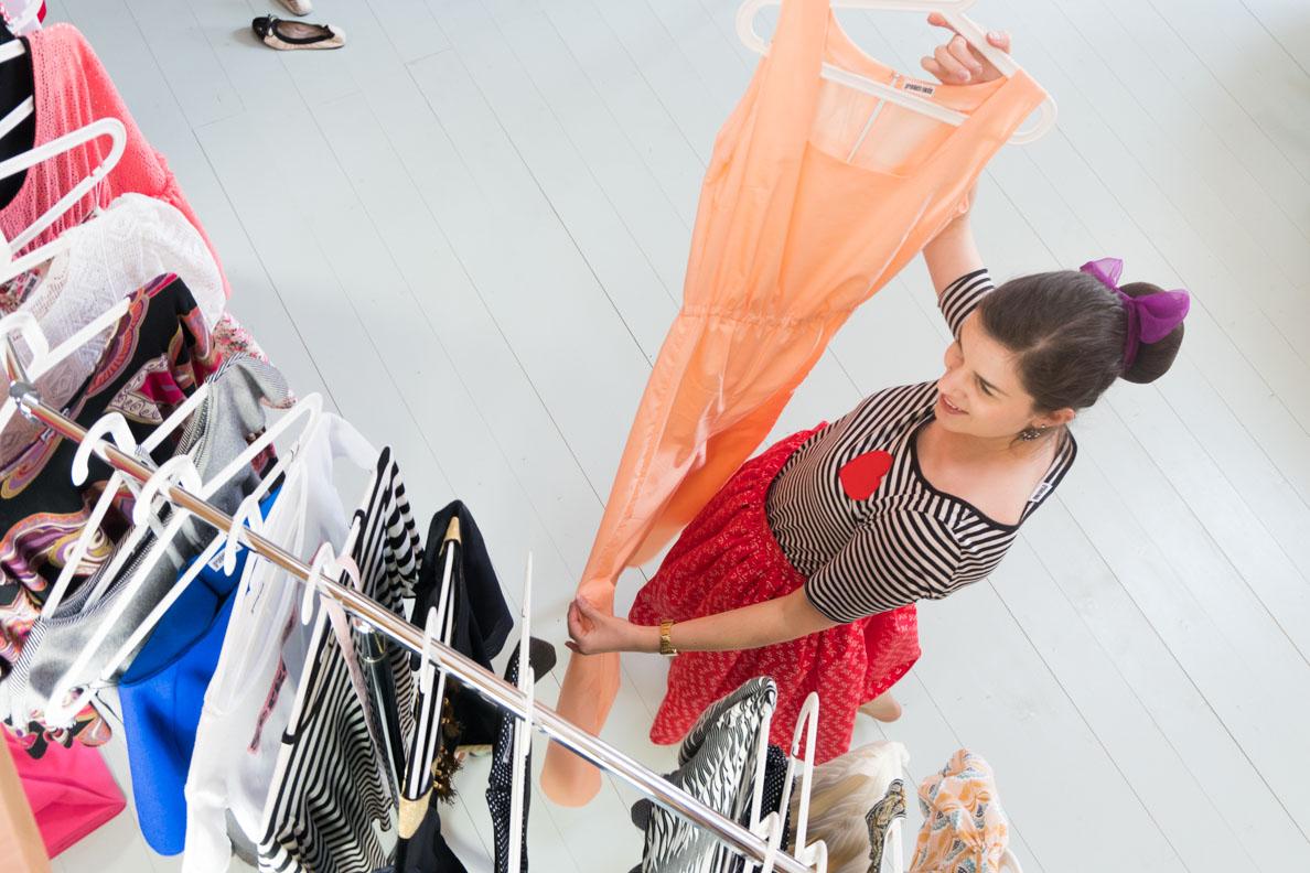 Kleine Retro-Marken aus Deutschland: RetroCat im Atelier von Grünten Mode