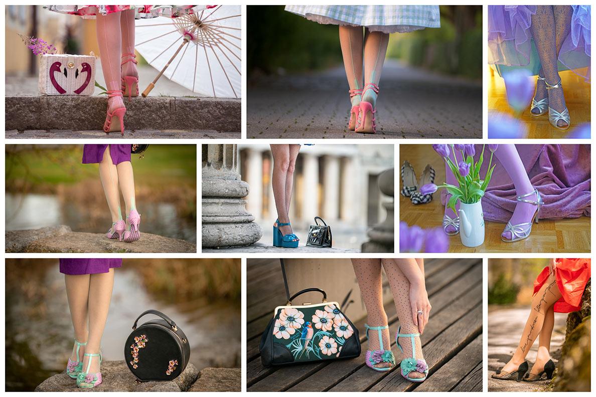 RetroCats Styling-Tipps: Strumpfhosen in offenen Schuhen tragen