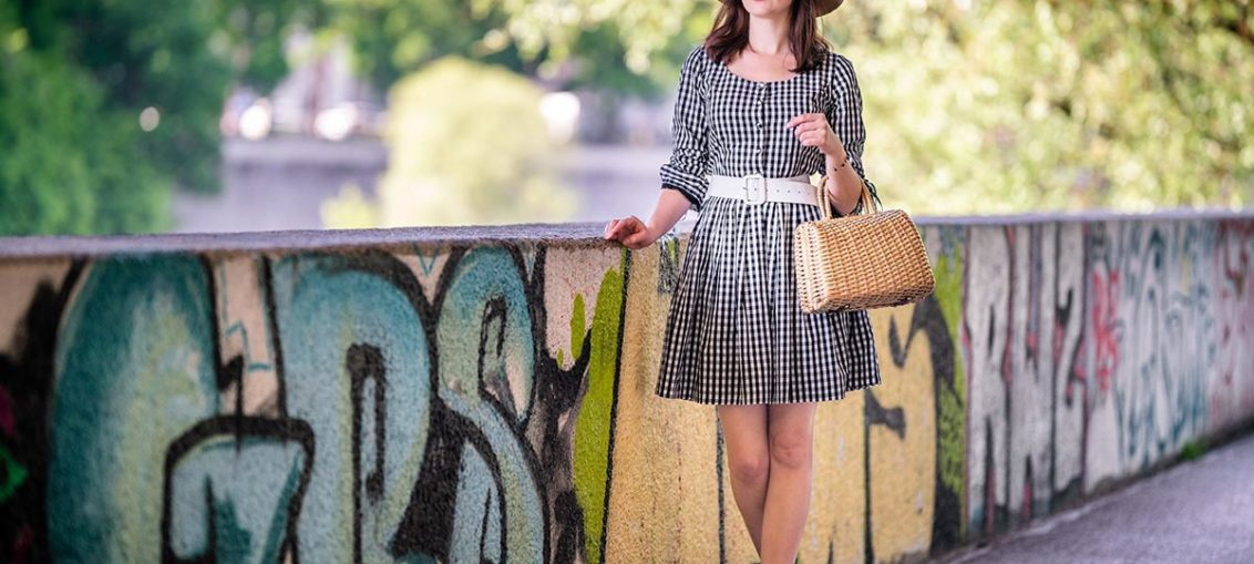 The most beauitful Gingham Dresses for Summer