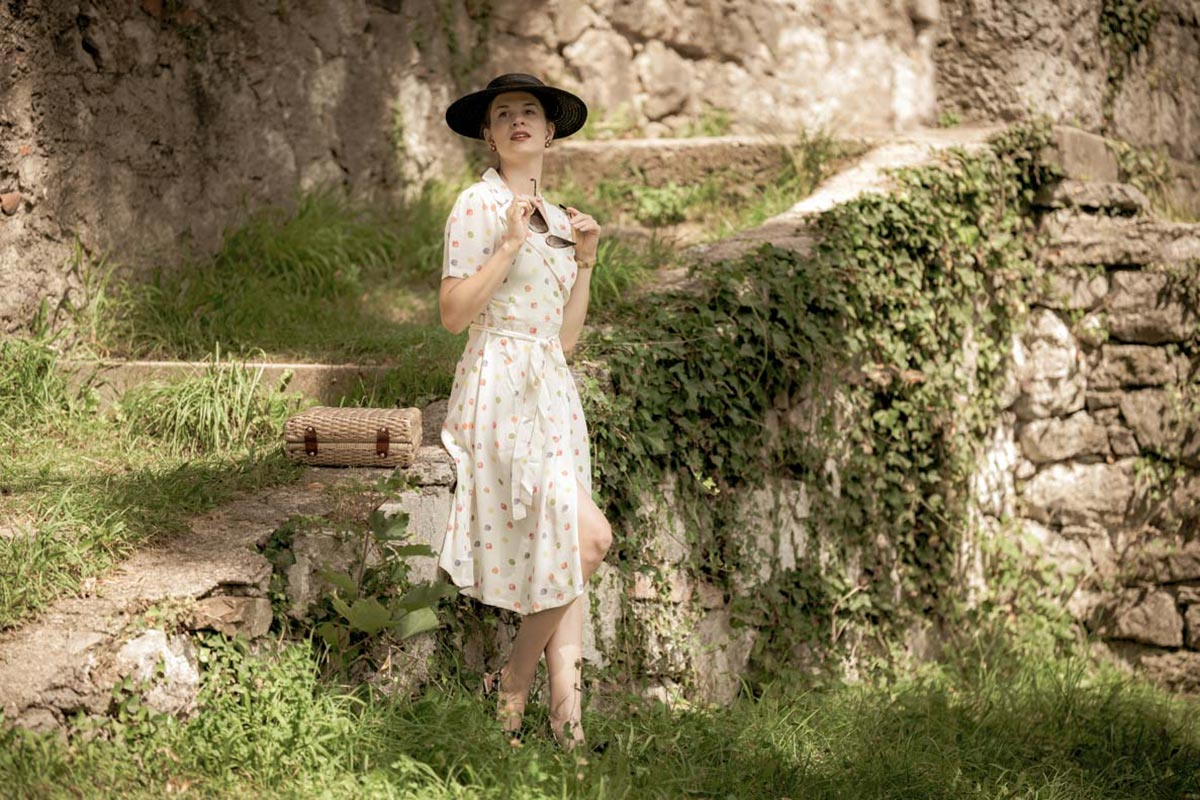 Budget-friendly retro summer dresses