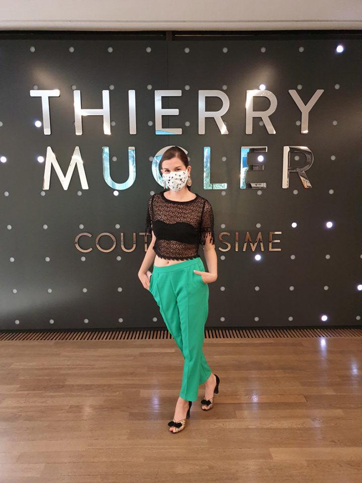 RetroCat bei der Thierry Mugler Couturissime Ausstellung in der Kunsthalle München