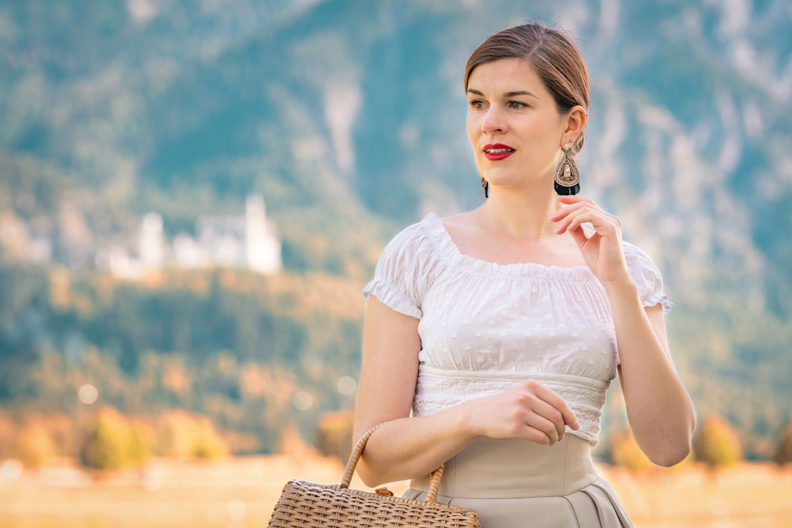 RetroCat mit einem romantischen Top in Bayern