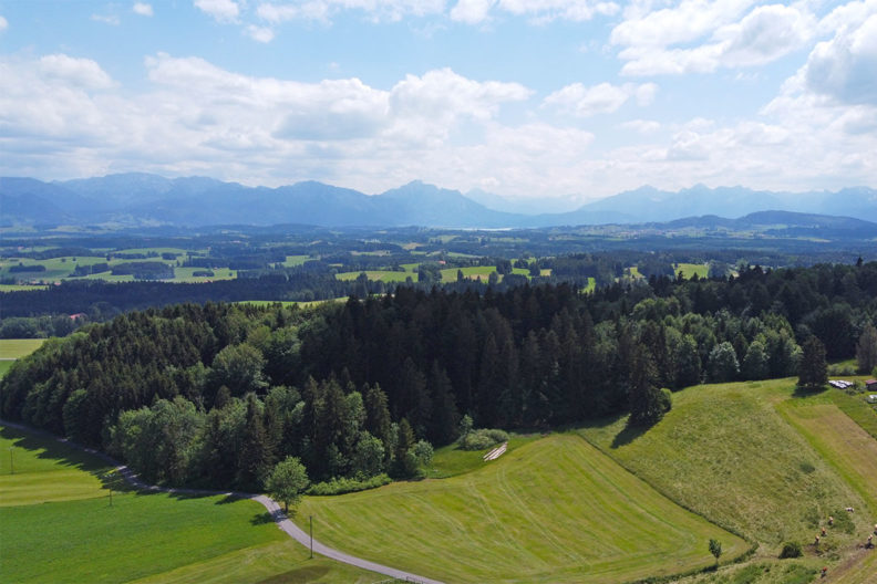 RetroCat's week: Drone photos from the Bavarian Alpine Uplands