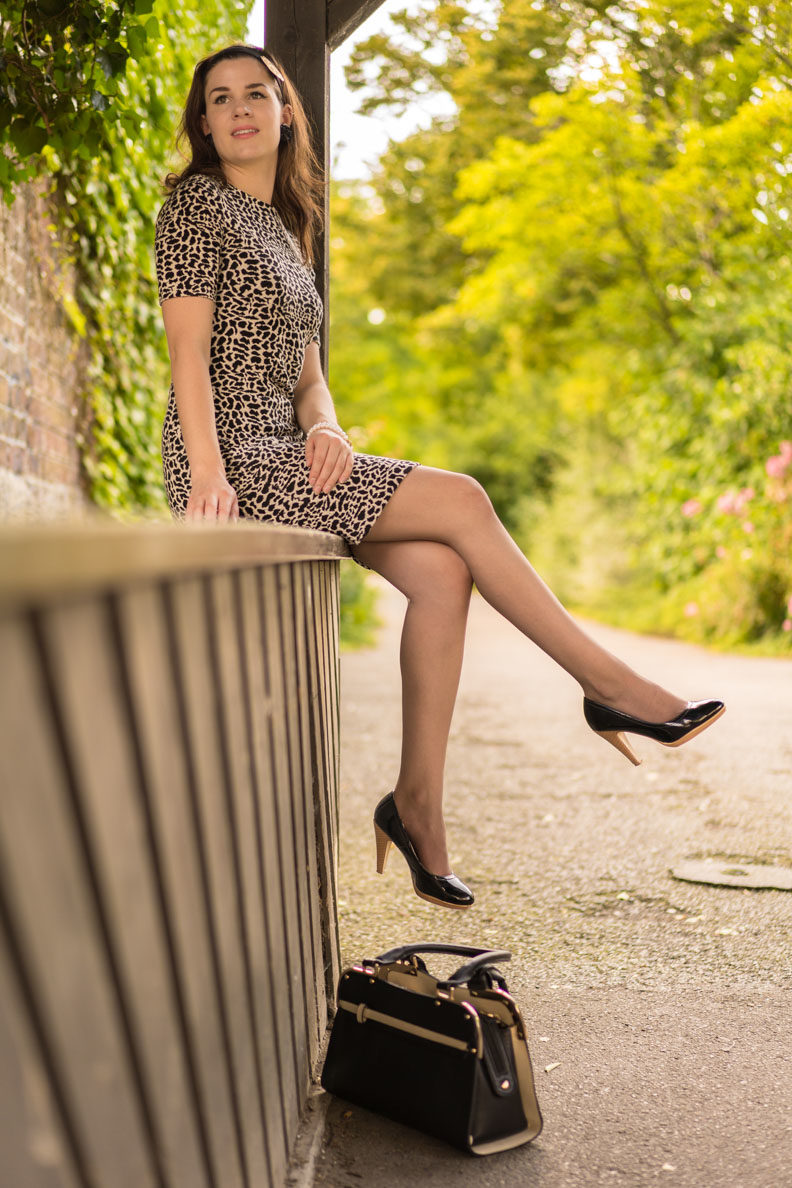 The Dita's Daytime Sheer stockings by Secrets in Lace make your legs look beautiful